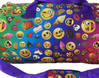 Personalized Emoticon Duffle Bag