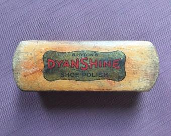 Barton's shoe polish DyanShine shoe brush