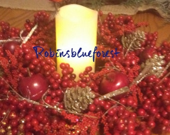 Red Berry Centerpiece C0002