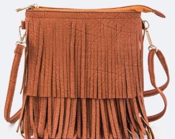 Fringe Cross body Bag Purse