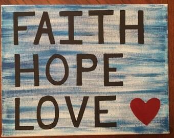 Faith • Hope • Love