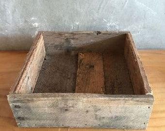 Large Reclaimed Wood Planter Box
