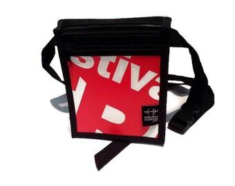 Red White shoulder Junior bag