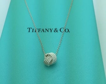 Tiffany & Co Knot Necklace 925