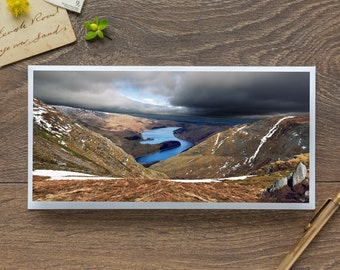Haweswater Reservoir - Single Blank Card / Birthday / Notelet / Thank You