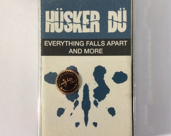 HÜSKER DÜ - Everything Falls Apart and More cassette (Reflex/Rhino)