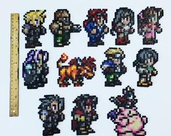 Final Fantasy VII 7 Perler Sprites!~