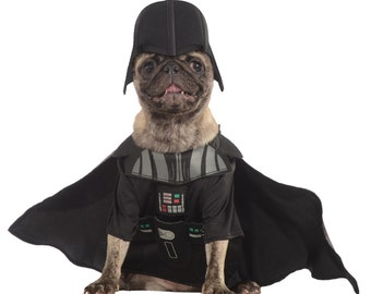 Star Wars DARTH VADER Dog Costume Pet Costumes Dog Accessories Pet Accessories Dog Clothing Halloween Party Supplies - Free US Shipping!