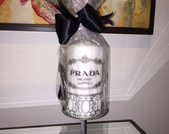Prada Inspired Designer Candle