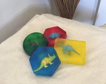 Handmade Dino Soaps