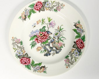 Wedgwood Etruria & Barlaston or Board with flowers and birds