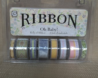 Scrapbooking Basic Grey Ribbon Package-Oh Baby!