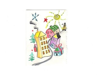 WINTER TIME (Note Card)