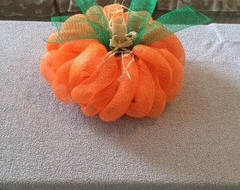 Deco Mesh Pumpkin Free Shipping