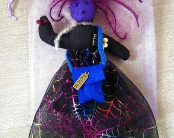 Rainbow Witch Spirit Doll