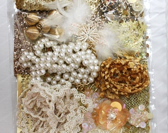 Habby Bag - Gold - Mix and Match Arts & Crafts Kit