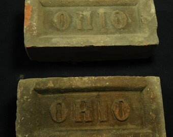 Ohio Brick Company Paving Bricks - Set of Two Bookends - Patio