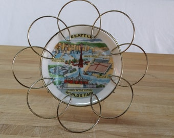 Souvenir Plate from Seattle World's Fair 1962