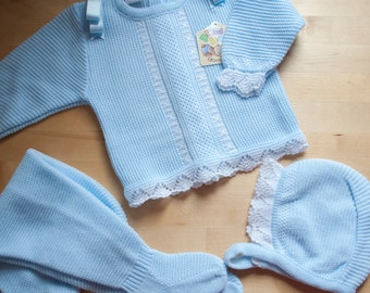 3 pieces knitted set