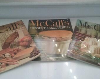 Vintage McCall's Cookbooks