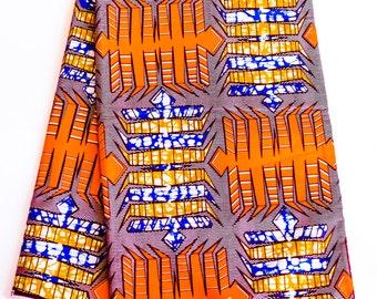 Authentic Ankara (African Wax) Fabric