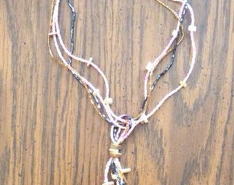 16 inch  beaded necklace with pendant
