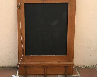 Black Board / Chalk Board - Sign Vintage France Bar Restaurant