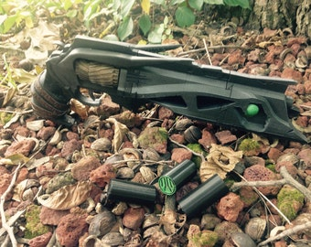"Full 16"" Exotic Thorn Hand Cannon Revolver Pistol Gun Destiny True Cosplay Size Prop Three Color Handles"