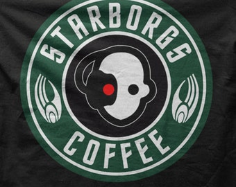 Star Trek T-shirt - StarBorgs Coffee