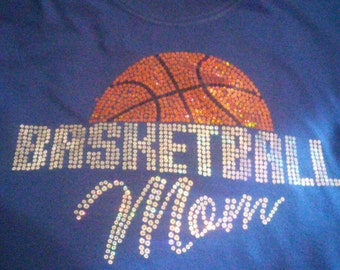 Basketball Mom Sequin T shirt