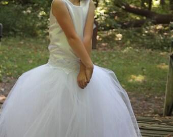Miniature brides /flower girl dress