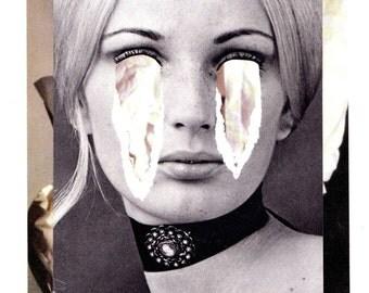 Can I - Original Collage