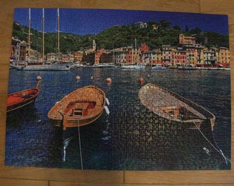 "Assembled puzzle 1000 ""Portofino Italy"""
