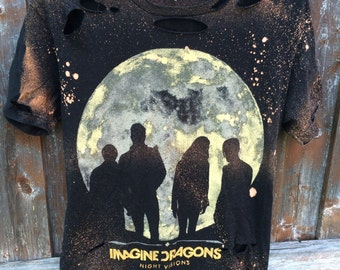 Imagine Dragons distressed shirt