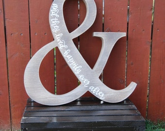 Ampersand Wall Hanging