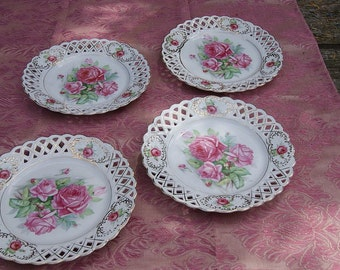 4 beautiful breakthrough dish with delicate roses motif
