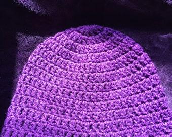 Handmade Purple Beanie