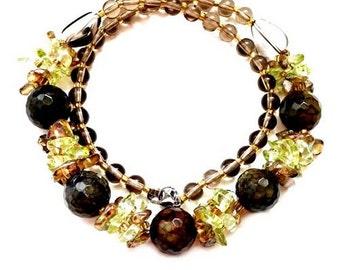 Handmade Multi Gemstone Necklace