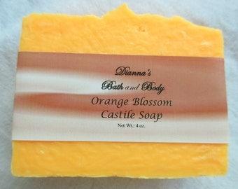 Orange Blossom Castile Soap