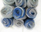 Dove Grey & Royal Blue Ar...