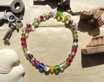 Rainbow Sphere Bracelet