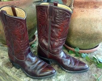 Mason Western Cowboy Boots