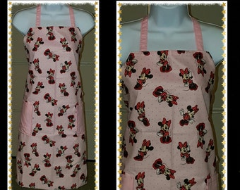 Handmade Minnie Mouse Apron