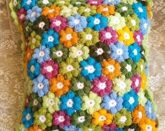 Handmade Knitted Cushion