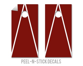 Indiana Colors Cornhole Board Decals