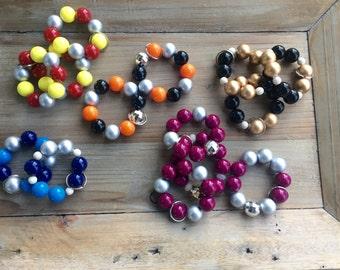Panhellenic Keyring Bracelets