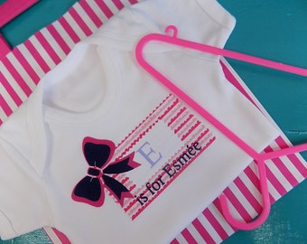 "Girls ""Name Patch"" Baby Vest"
