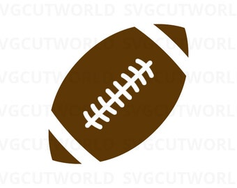 Rugby Ball Svg, Sports Ball Svg, use with Cricut & Silhouette