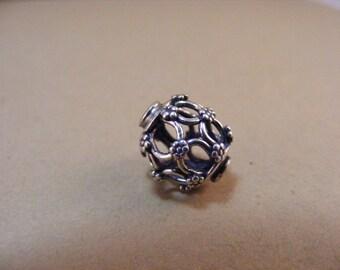 Sterling Silver Handmade Bali Bead Style B226
