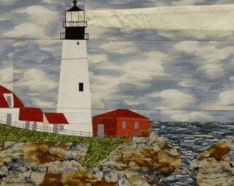 Portland Head, ME Lighthouse quilt pattern